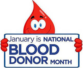 Newsletter | January 2020 | January is Blood Donor Month